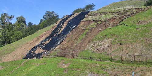 Unstable Hillside Affects Traffic, Shuttles, Building 46