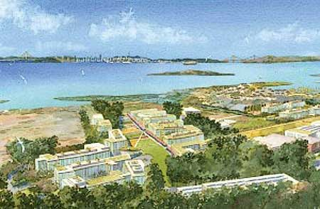 Proposed Lawrence Berkeley National Laboratory Design for Richmond Field Station Site