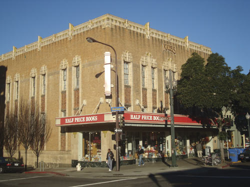 Today's refurbished Kress Building houses Half Price Books and retains nearly every exterior architectural element from 75 years ago.