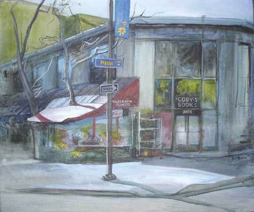 Vladimir Berberov's Cody's is one of the works on display at Giorgi Gallery.