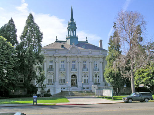 Old City Hall was renamed the Maudelle Shirek Building in March 2007.