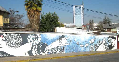 <b> Marking Neruda's Neighborhood: </b>