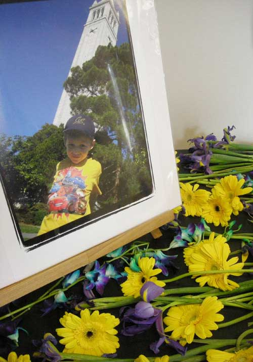 Zachary Cruz, 5, was killed in a pedestrian accident on his way to an after-school program at the Clark Kerr campus.