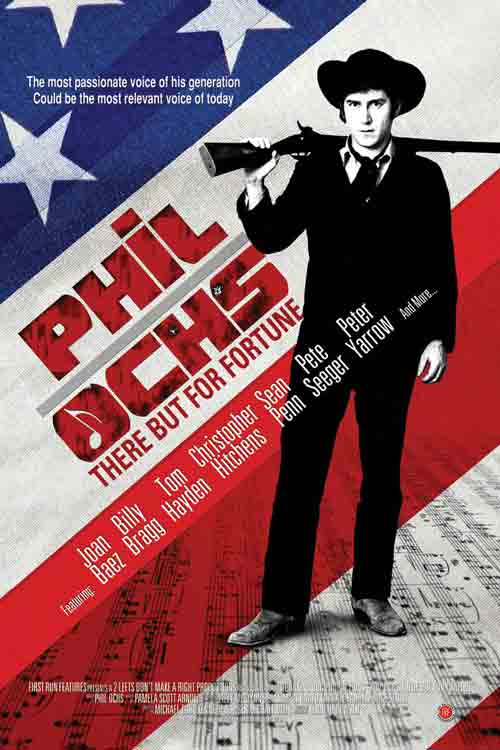 Phil Ochs Poster (Carnegie Hall, 1966)