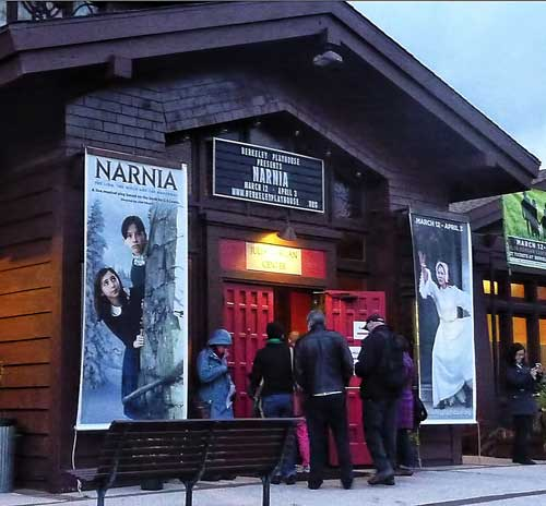 """Narnia"" the musical plays through April 3 at the Julia Morgan Center for the Arts on College Avenue."