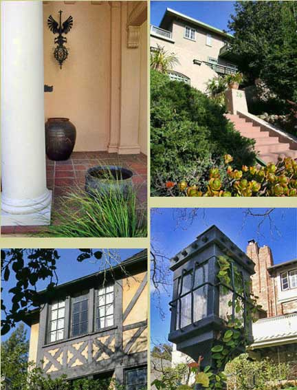 Some of the historic homes on the Berkeley Architectural Heritage May Tour
