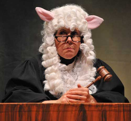 Sharon Huff Robinson as Judge Prudence
