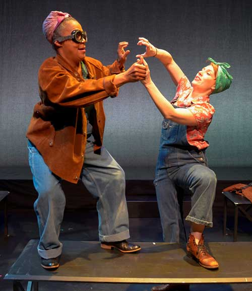 Cathleen Riddley and Lauren English in Genevieve Jessee's SHIPS IN THE DAY