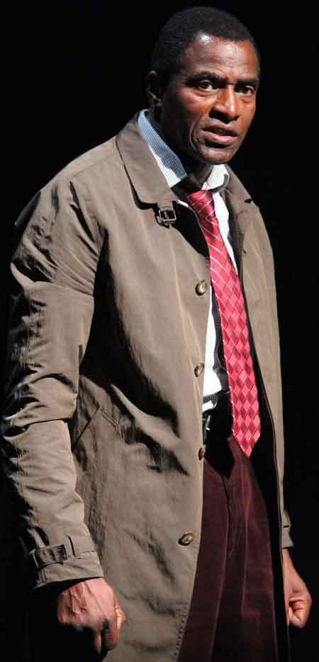 "Carl Lumbly in Mark O'Rowe's ""Terminus"" at Magic Theatre."