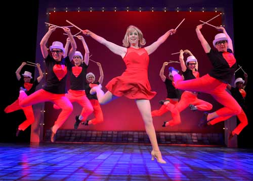 "Molly Bell shines in ""Sweet Charity"""