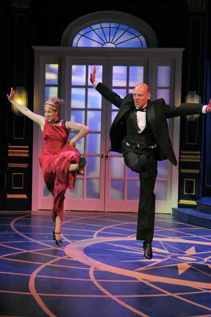 Molly Bell & Carl J. Danielsen hoof their hearts out at The Marvelous Party playing thru June 26 at Center Rep.