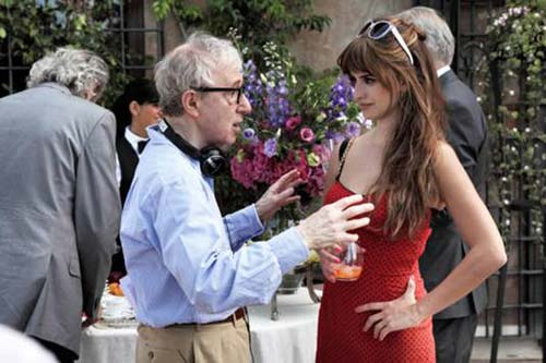 Woody Allen and Penelope Cruz