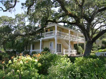The Southern-style house built by Mary Ellen Pleasant at Beltane Ranch in Glen Ellen is now a bed-and-breakfast inn.