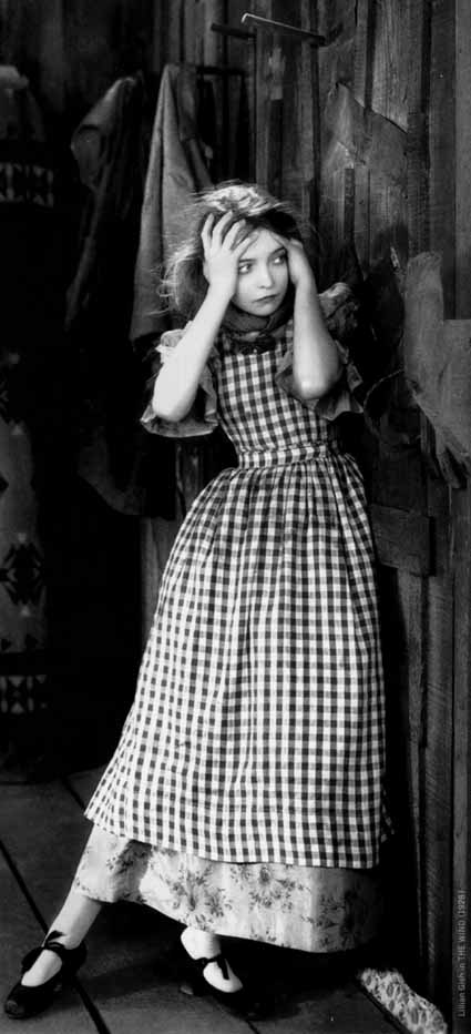 Lillian Gish in <i>The Wind</i>, directed by Victor Sjostrom.