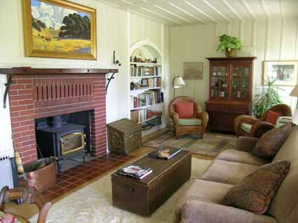 The Beltane Ranch living room.