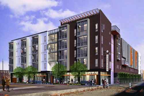 The design for 651 Addison as presented at the July 21 City of Berkeley Design Review