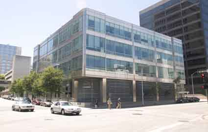 A court ruling Aug. 17 has stalled Lawrence Berkeley National Laboratory and the U.S. Department of Energy from any efforts to move a high-speed computer network to LBNL from its current site in this former bank building in downtown Oakland.