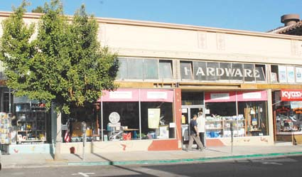 Elmwood Hardware will close next month for remodeling and may never reopen, said owner Tad Laird. Photograph by Richard Brenneman.
