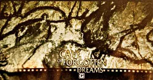 Promotional shot of Werner Herzog's, 'the Cave of Forgotten Dreams, 2010, showing at the Elmwood in the Elmwood--