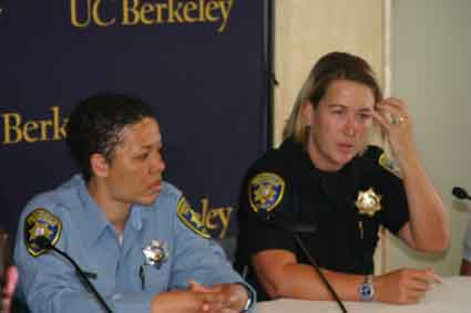 UC Berkeley police officers Lisa Campbell and Ally Jacobs describe their meeting with Phillip Garrido, the Antioch man suspected of kidnapping 11-year-old Jaycee Lee Dugard in South Lake Tahoe in 1991.