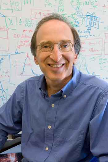 UC Berkeley and LBNL physicist Saul Perlmutter
