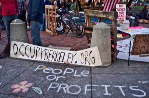 It's official, Occupy Berkeley.Org is the name of Berkeley Anti-Wall Street protest--but How Berkeley is it?