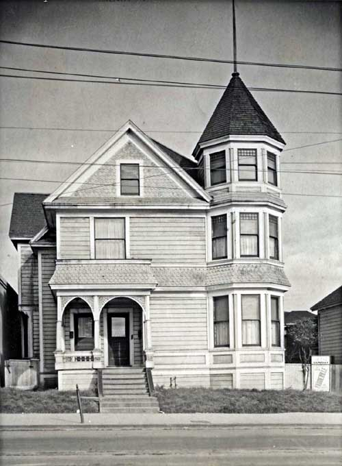 Samuel Heywood's home at 1929 Grove St.