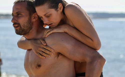 Schoenaerts and Cotillard